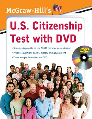 McGraw-Hill's U.S. Citizenship Test By Hilgeman, Karen/ Roderman, Winifred Ho/ Sherman, Kristin/ Cooper, Jennifer Wilson